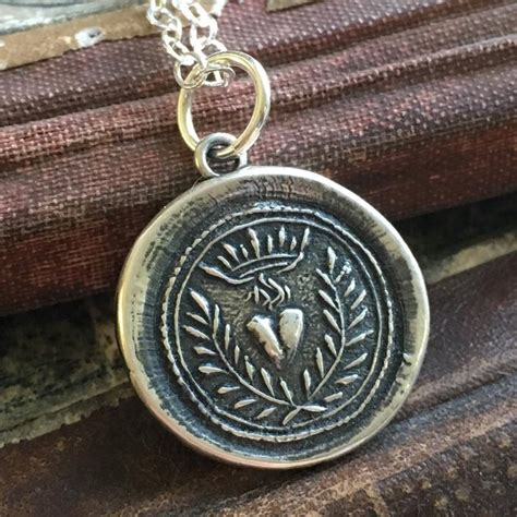 wax seal jewelry and gifts with meaning by shannon westmeyer