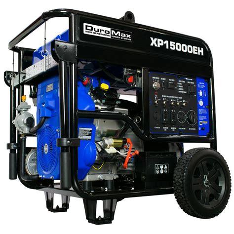 duromax 12500 watt 713cc portable gasoline propane