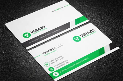 best looking business card template clean professional business card business card templates