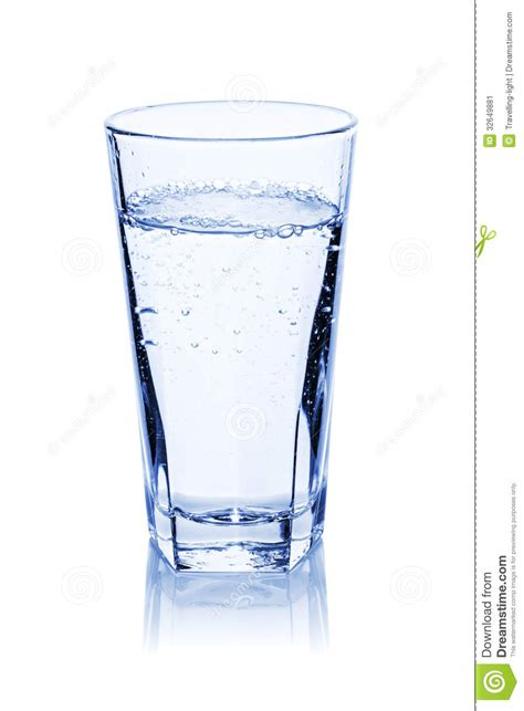 Bicchieri D Acqua Bicchiere D Acqua Immagine Stock Immagine 32649881