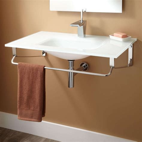 how to hang a sink on the wall how to install wall mounted sink midcityeast