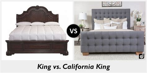 cal king vs king bed difference between king and california king