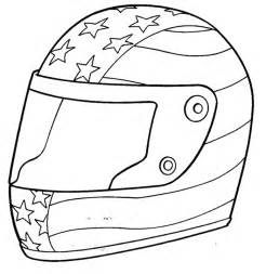 nascar coloring pages driver helmet coloringstar