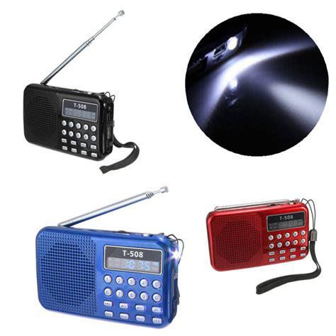 Lu Led Speaker t508 led stereo fm radio speaker usb tf card mp3