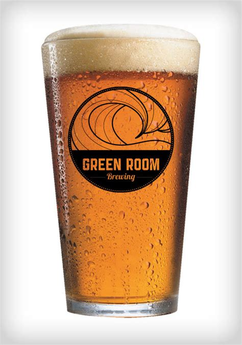 green room brewing green room brewing on behance