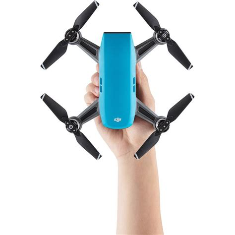 Dji Spark Eu Non Combo Propeller Guard Battery Garansi Tam dji spark sky blue fly more combo