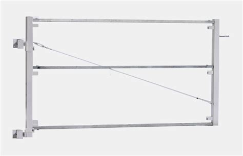 Vinyl Patio Umbrella Adjustable Steel Gate Frame Kits For Vinyl Fence