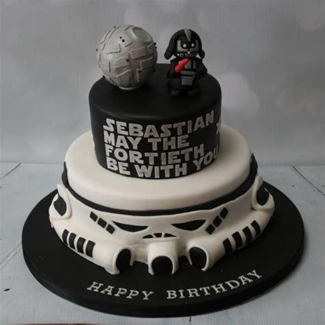 star wars  tier cake