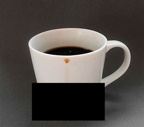 coffee mug that keeps your table clean