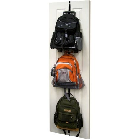 backpack rack for home hanging backpack rack in kids closet organizers