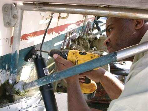 how to install boat trim tabs how to install trim tabs boating world