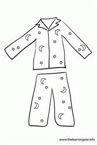 coloring sheet pajamas coloring page coloring home