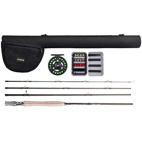 ultra light rod and reel plusinno lightweight ultra portable fly fishing rod and