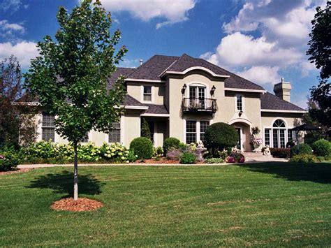 longridge santa fe style home plan 091d 0271 house plans
