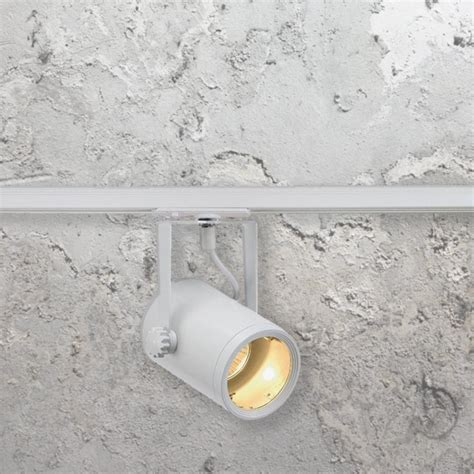Ranarp Wall Cl Spotlight White 1 gu10 track spotlight cl 34267 track e2 contract lighting uk