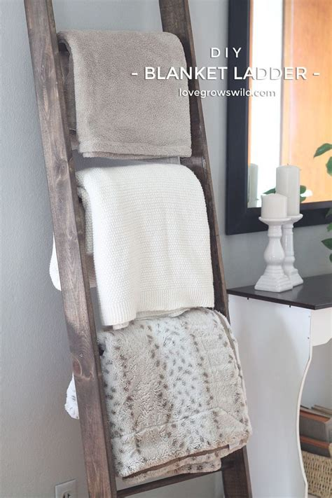 How To Make A Ladder Quilt Rack by 25 Best Ideas About Blanket Ladder On Diy