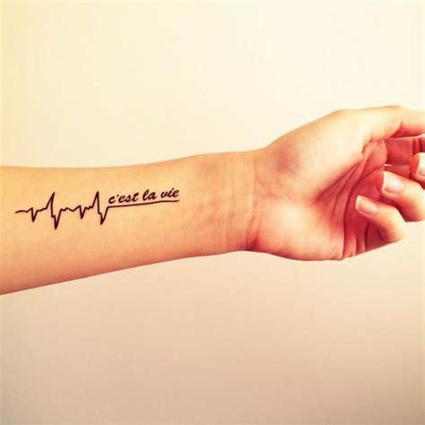 c est la vie inknartshop designer temporary tattoo