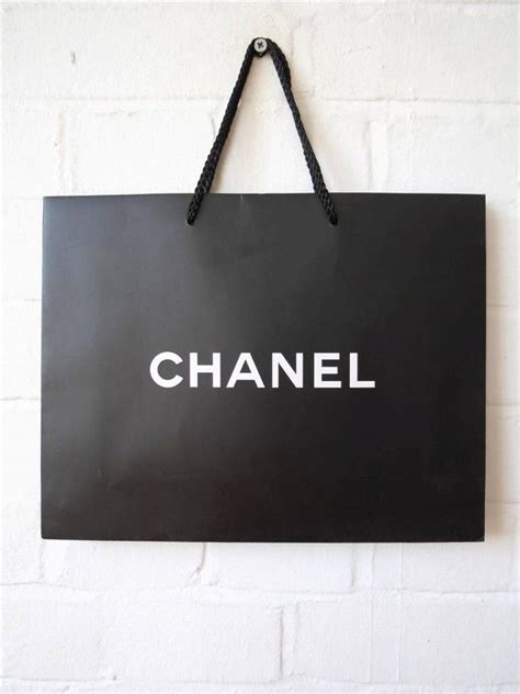chanel gift paper bag ebay