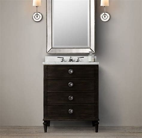 powder room vanities and sinks maison powder room vanity sink 36 or 27 1545 for 27 inch