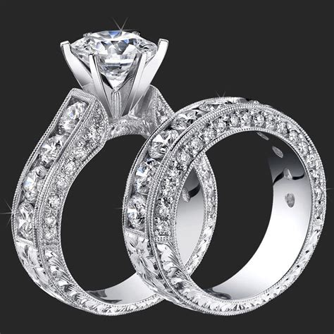 what is fluorescence unique engagement rings