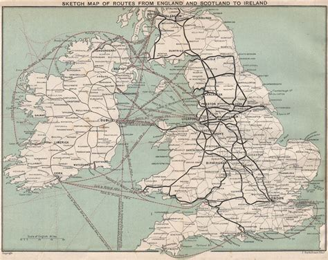boat shipping map ferry shipping routes from england and scotland to ireland