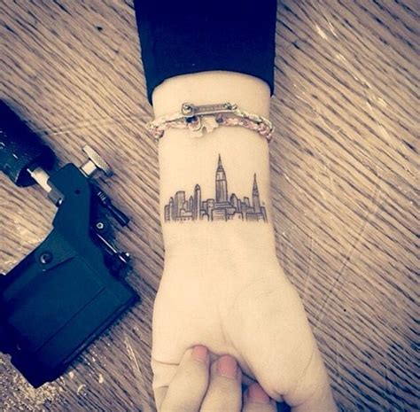 new york tattoo wrist 50 small tattoo designs for boys and girls