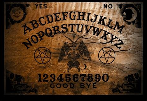 tavola wigi ouija board burnt design from occultboards planchette