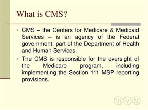 section 111 medicare ppt mcanany van cleave phillips p a powerpoint