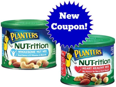 Planters Nutrition Coupon by New Planters Nut 183 Rition Coupon