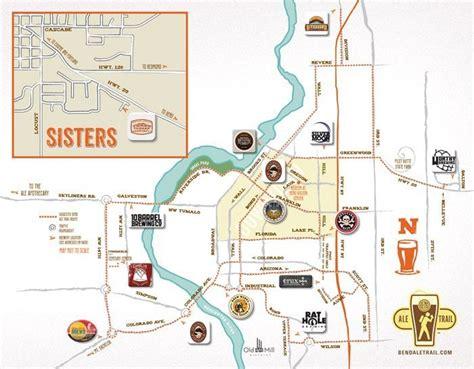 bend oregon breweries map local favorite activities in bend or bend oregon 365