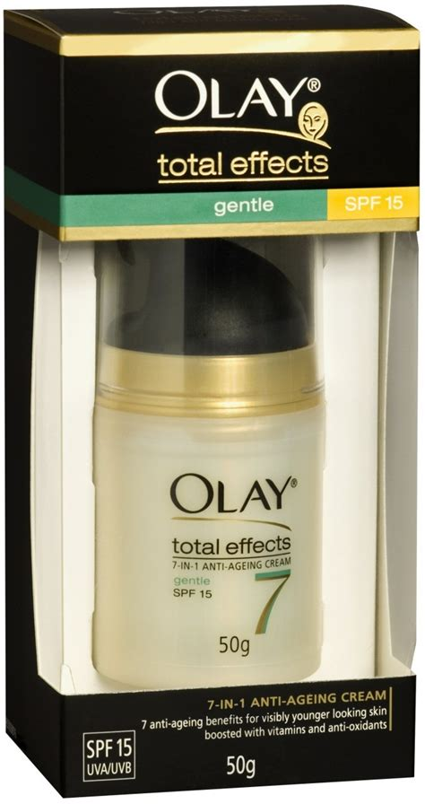 Olay Total Effect Gentle olay total effects gentle uv moisturiser with spf 15 50g