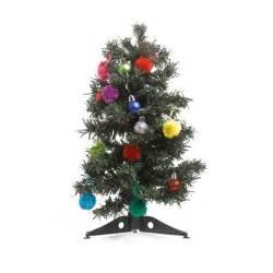 kaemingk multi color mini christmas tree decoration kit