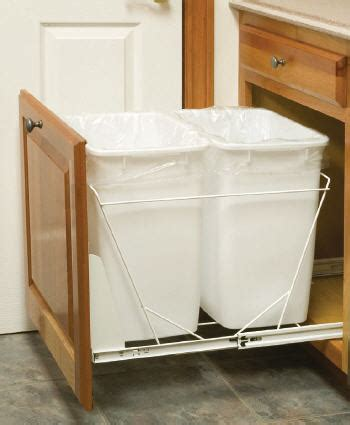 kitchen cabinet recycle bins bedroom trash cans
