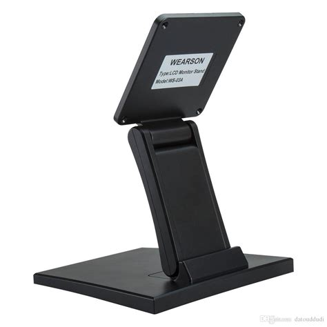 monitor stand for desk wearson adjustable lcd monitor stand mount folding vesa monitor desk stand with vesa