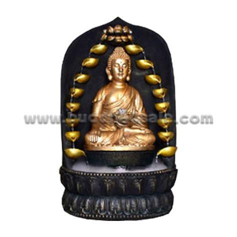 buddhist sakyamuni buddha statue home garden decor resin amitabha buddha bhumisparsa mudra fountain resin durable