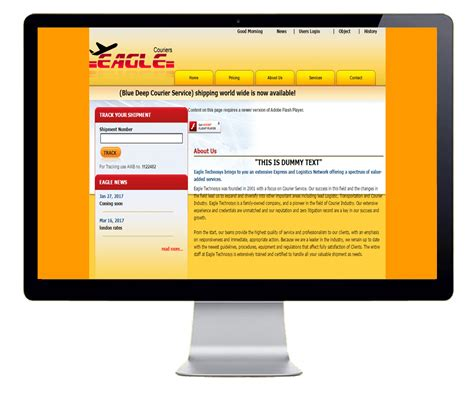 templates for courier website fantastic courier website template contemporary exle