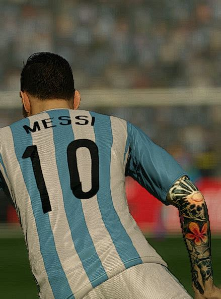 tattoo messi fifa messi tatto v1 fifa 15 at moddingway