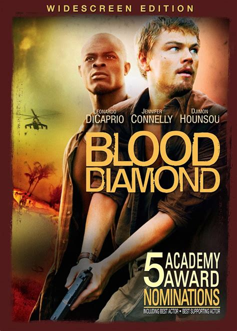 blood diamonds leonardo dicaprio s movie s leonardo dicaprio s blood