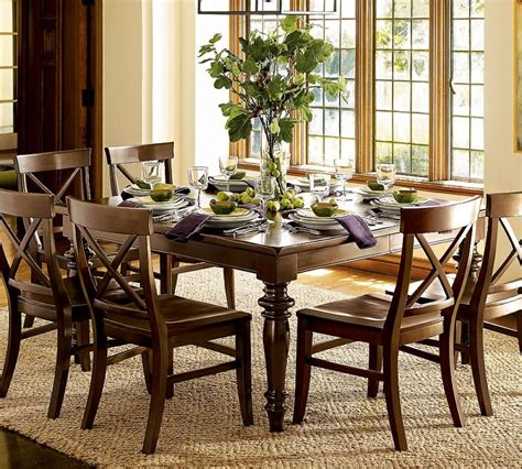 comfortable kitchen table decorating ideas with flowers