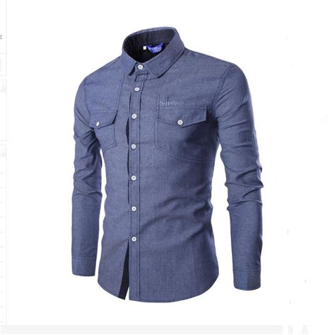 mens shirts fashion high quality fashion top stitching