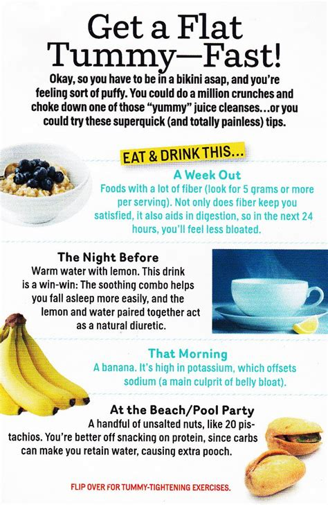 how to have a flat tummy after c section get a flat tummy fast keepin in shape pinterest