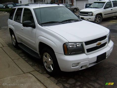 chevrolet trailblazer white 2008 summit white chevrolet trailblazer lt 4x4 24945216