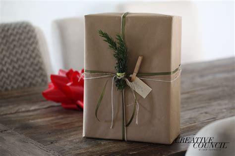 Butcher Paper Gift Wrap - sustainable gift wrapping