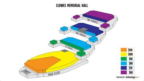clowes memorial seating chart clowes memorial of butler seating chart