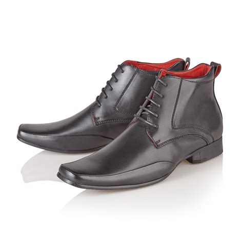 mens italian ankle boots mens italian style leather lined formal casual chelsea