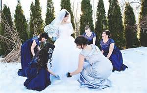 winter wonderland wedding by amber j photography knotsvilla