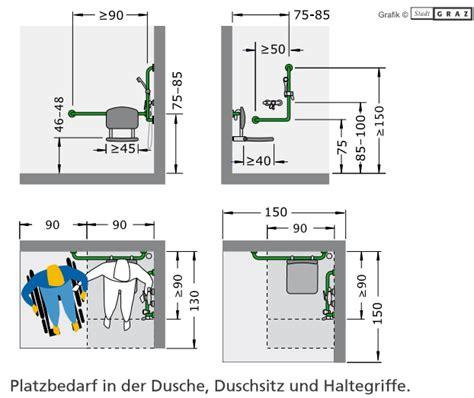 Behindertengerechtes Bad Planen by Barrierefreies Bad Richtig Planen Mit 214 Norm Ma 223 E Zusch 252 Sse