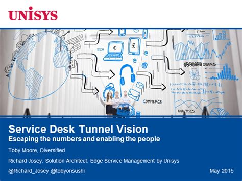 Unisys Help Desk Phone Number service desk tunnel vision escaping the numbers and enabling the