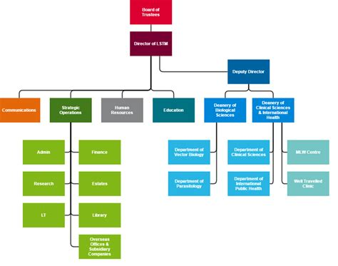 diagram hierarchy organisational structure lstm