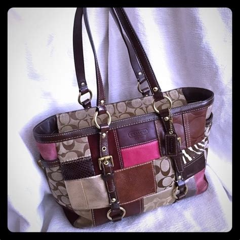 Coach Patchwork Tote - 90 coach handbags coach patchwork tote from